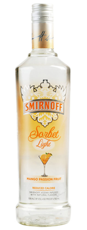Smirnoff Sorbet Light Vodka Mango Passion Fruit